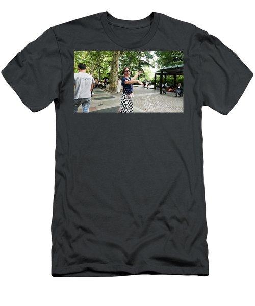 Jing An Park Men's T-Shirt (Athletic Fit)