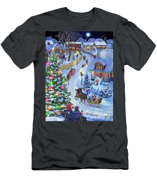 Jingle All The Way Men's T-Shirt (Athletic Fit)