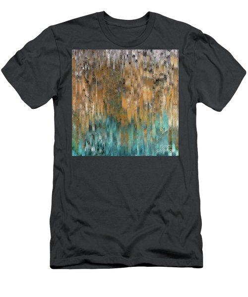 John 4 14. Never Thirst Men's T-Shirt (Athletic Fit)