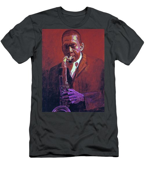 John Coltrane Men's T-Shirt (Athletic Fit)