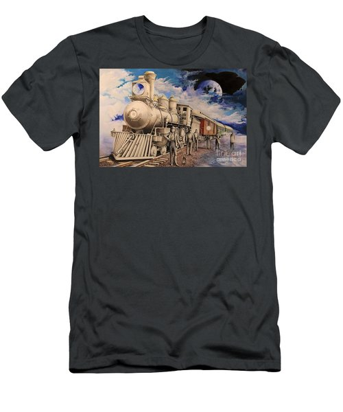 Journey Through The Mists Of Time Men's T-Shirt (Athletic Fit)