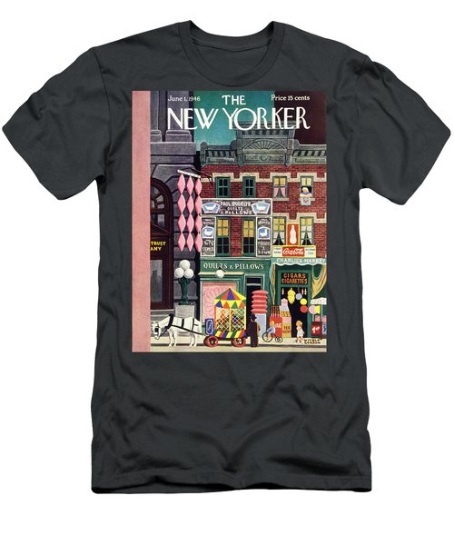 New Yorker June 1st 1946 Men's T-Shirt (Athletic Fit)
