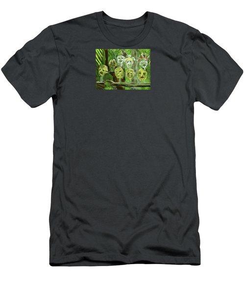 Jungle Spirits Men's T-Shirt (Athletic Fit)