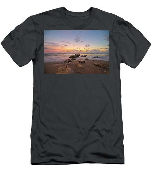 Jupiter Beach 2 Men's T-Shirt (Athletic Fit)