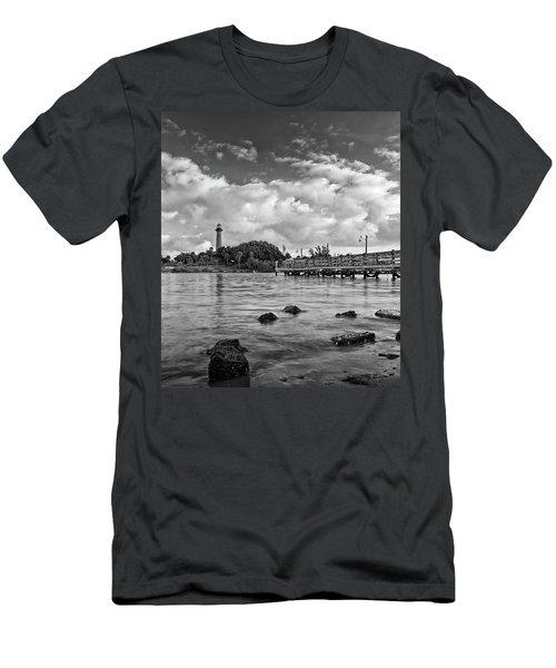 Jupiter Lighthouse 2 Men's T-Shirt (Athletic Fit)