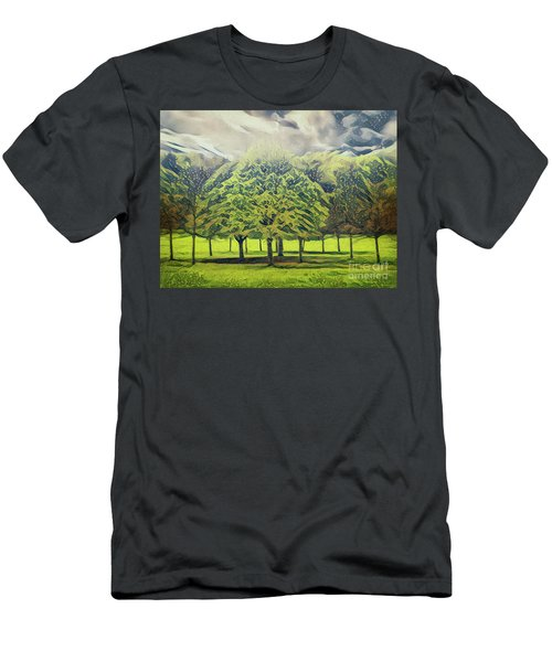 Men's T-Shirt (Athletic Fit) featuring the photograph Just Trees by Leigh Kemp