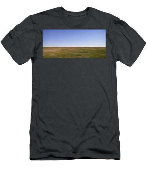 Just Walk To The Horizon Men's T-Shirt (Athletic Fit)