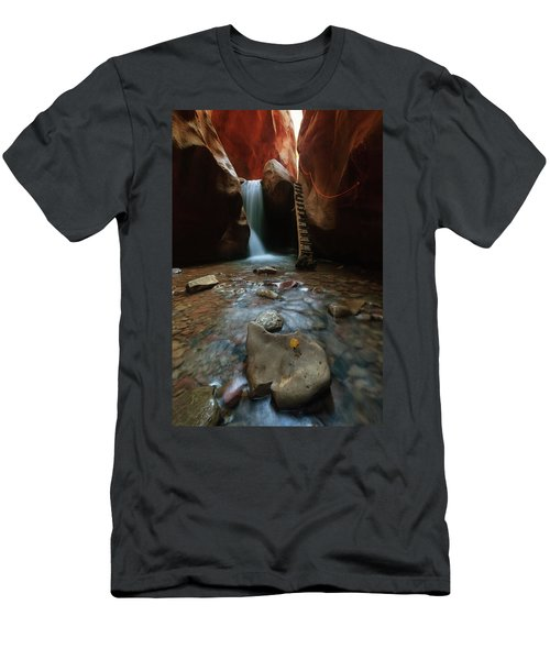 Kanarraville Falls Men's T-Shirt (Athletic Fit)