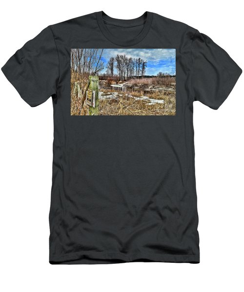 Keep Out Men's T-Shirt (Athletic Fit)