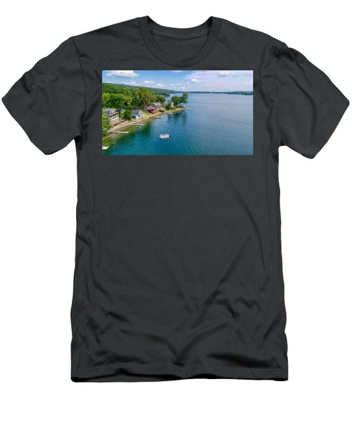 Keuka Boat Day Men's T-Shirt (Athletic Fit)