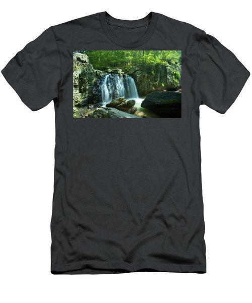 Kilgore Falls In Summer Men's T-Shirt (Athletic Fit)