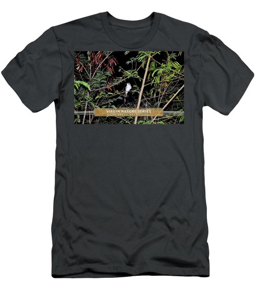 Kingbird In Casha - Virgin Nature Series Men's T-Shirt (Athletic Fit)