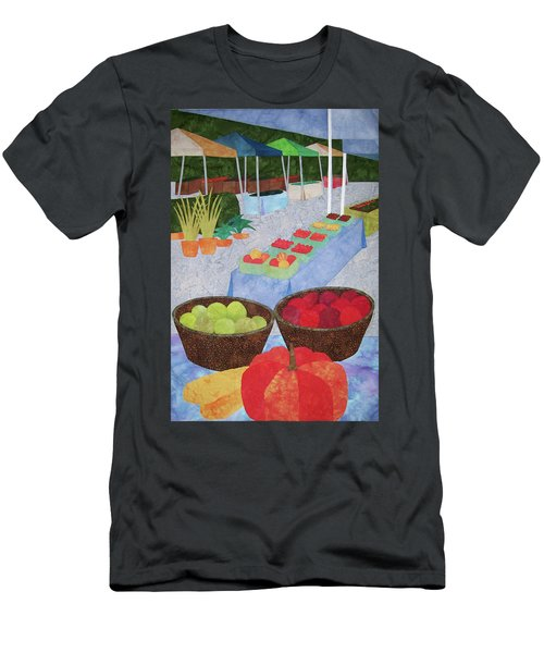 Kings Yard Farmers Market Men's T-Shirt (Athletic Fit)