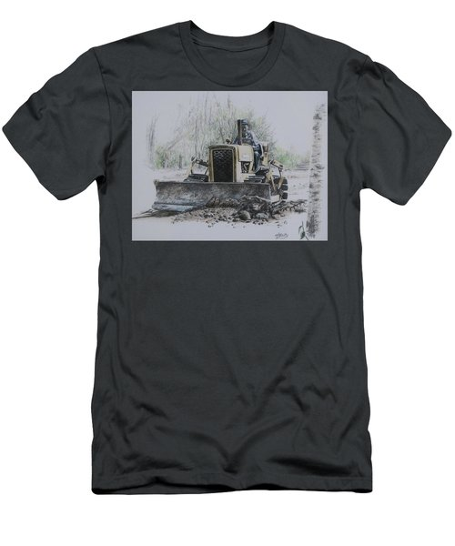 Men's T-Shirt (Athletic Fit) featuring the painting Labour Of Love by Tammy Taylor