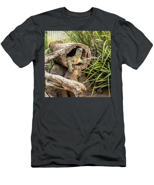 Lace Monitor During The Day. Men's T-Shirt (Athletic Fit)