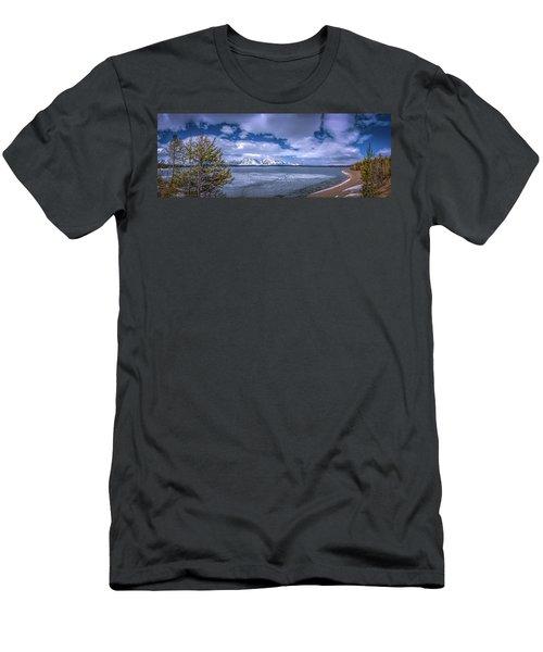 Lake Jackson Wyoming Men's T-Shirt (Athletic Fit)