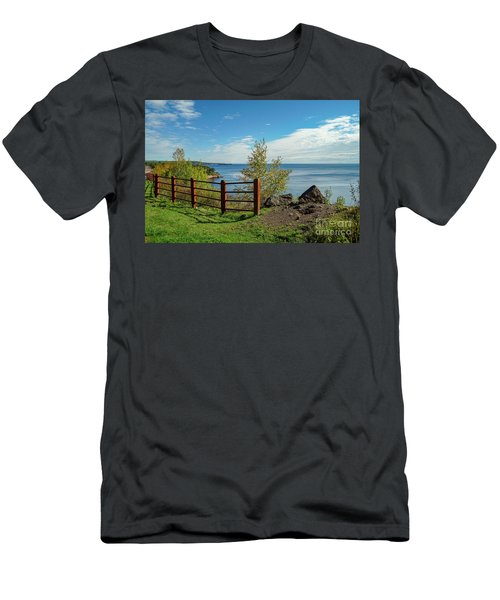 Lake Superior Overlook Men's T-Shirt (Athletic Fit)