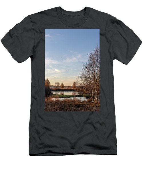 Men's T-Shirt (Athletic Fit) featuring the photograph Landscape Scenery by Anjo Ten Kate
