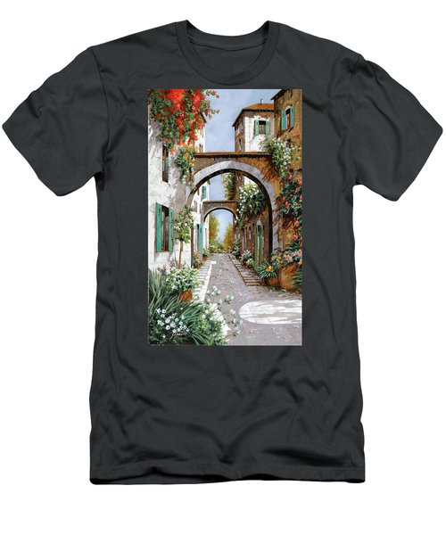 L'arco Dell'angelo Men's T-Shirt (Athletic Fit)