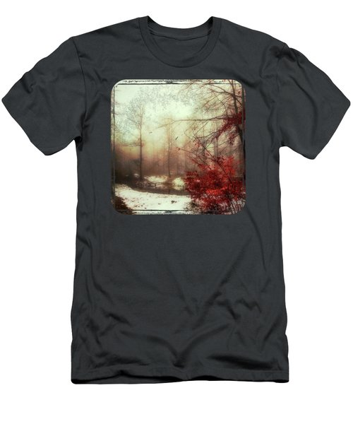 Last Copper- Misty Winter Day Men's T-Shirt (Athletic Fit)