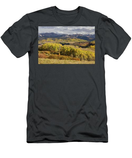 Men's T-Shirt (Athletic Fit) featuring the photograph Last Dollar Road by James BO Insogna