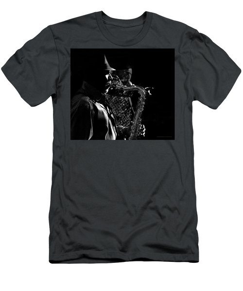 Late Night Noir Men's T-Shirt (Athletic Fit)