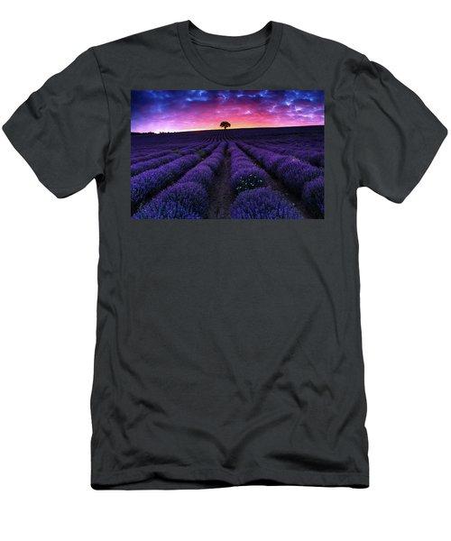Lavender Dreams Men's T-Shirt (Athletic Fit)