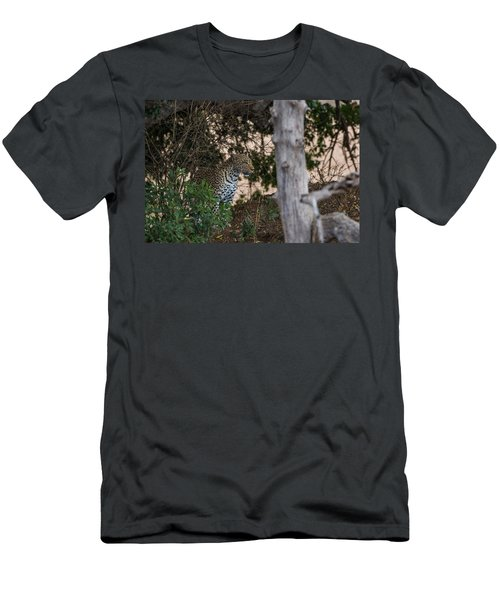 Men's T-Shirt (Athletic Fit) featuring the photograph LC1 by Joshua Able's Wildlife