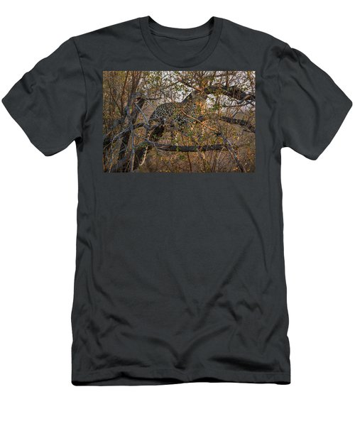 Men's T-Shirt (Athletic Fit) featuring the photograph LC6 by Joshua Able's Wildlife