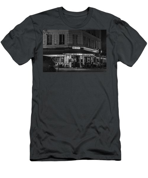 Men's T-Shirt (Athletic Fit) featuring the photograph Le Galliera by Randy Scherkenbach