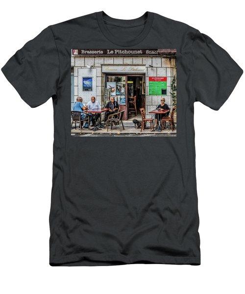 Le Pitchounet Brasserie Men's T-Shirt (Athletic Fit)