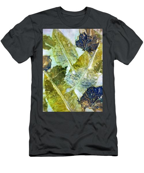 Leaves Of Nature Eco Dyed Print Men's T-Shirt (Athletic Fit)