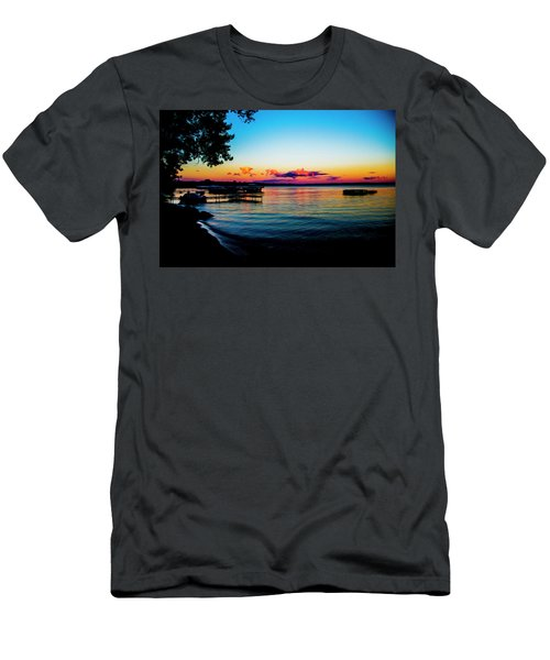 Men's T-Shirt (Athletic Fit) featuring the photograph Leech Lake by Stuart Manning