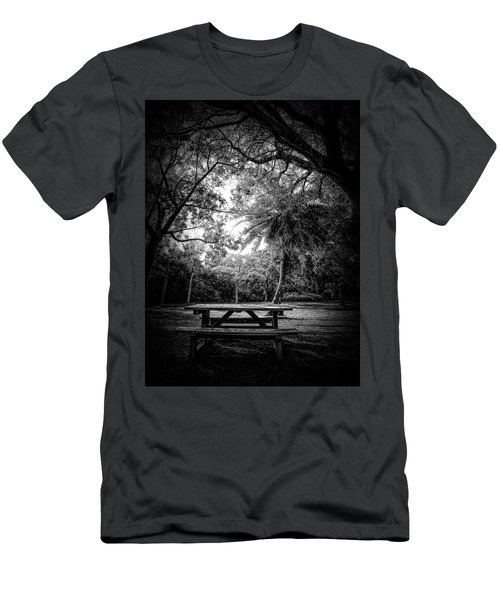 Let The Light In Men's T-Shirt (Athletic Fit)