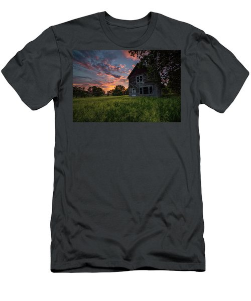 Men's T-Shirt (Athletic Fit) featuring the photograph Letters From Home by Aaron J Groen