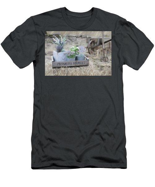 Life Began In A Garden Men's T-Shirt (Athletic Fit)