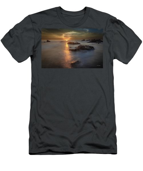 Men's T-Shirt (Athletic Fit) featuring the photograph Light Curl by Tim Bryan