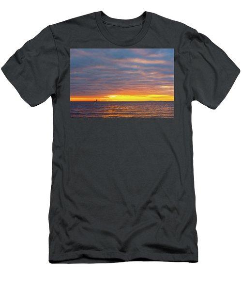 Light On The Horizon Men's T-Shirt (Athletic Fit)