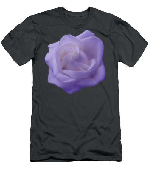Light Purple Rose Men's T-Shirt (Athletic Fit)