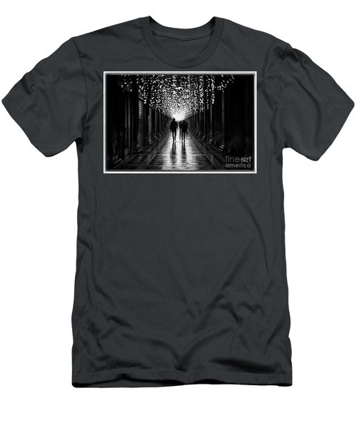 Light, Shadows And Symmetry Men's T-Shirt (Athletic Fit)