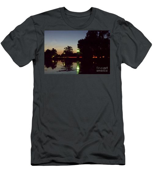 Lighthouse Light Men's T-Shirt (Athletic Fit)