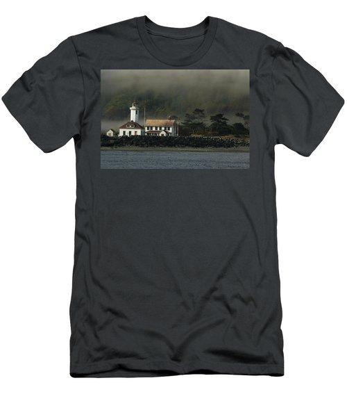 Lighthouse - Port Wilson Men's T-Shirt (Athletic Fit)
