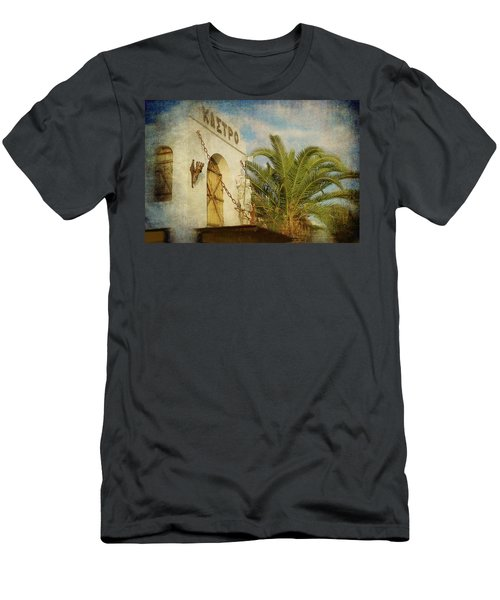 Men's T-Shirt (Athletic Fit) featuring the photograph Like In Medieval Times by Milena Ilieva