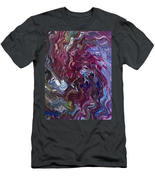 Lilac Oil Men's T-Shirt (Athletic Fit)