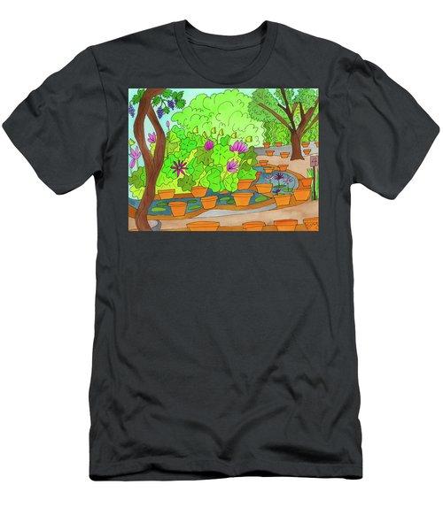 Lilies Men's T-Shirt (Athletic Fit)