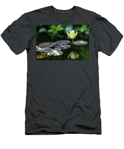 Lily In The Pond Men's T-Shirt (Athletic Fit)