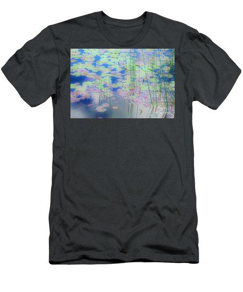 Lily Pads1 Men's T-Shirt (Athletic Fit)