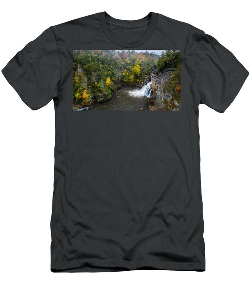 Linville Falls - Linville Gorge Men's T-Shirt (Athletic Fit)