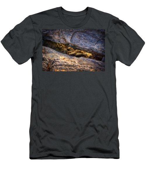 Lit Rock Men's T-Shirt (Athletic Fit)