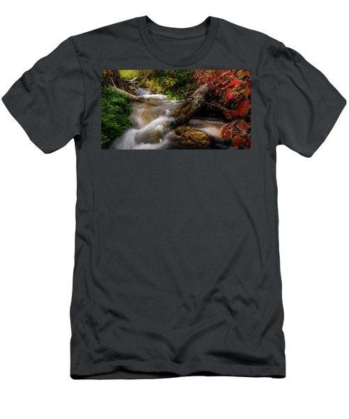 Little Deer Creek Autumn Men's T-Shirt (Athletic Fit)